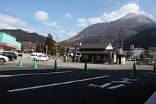 湯布院駐車場 バイクの停めれる駐車場