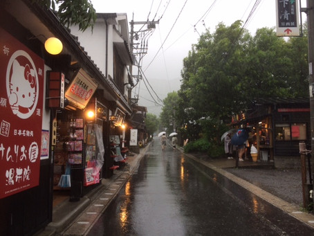 台風3号一過