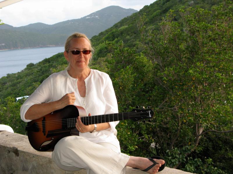 British Virgin Islands, Benedetto Andy guitar
