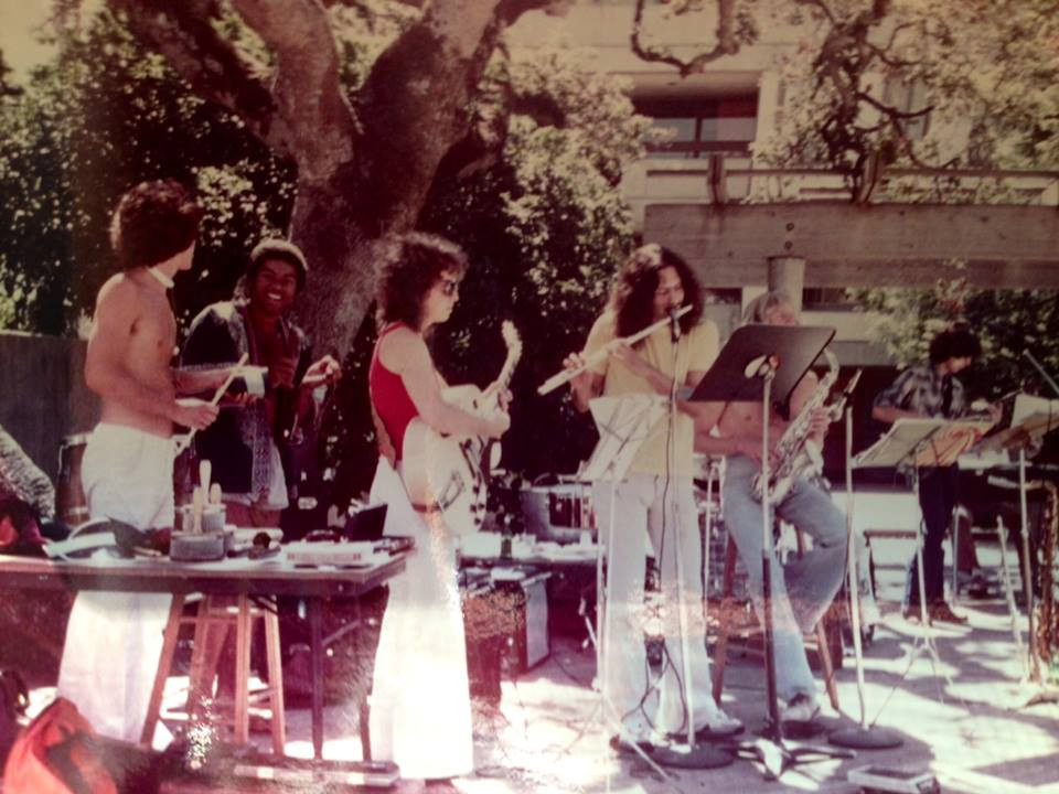 1977 College Latin Jazz band, Gibson ES175