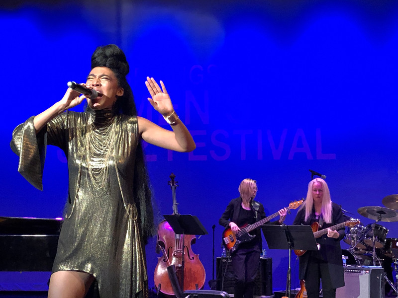 With Judith Hill