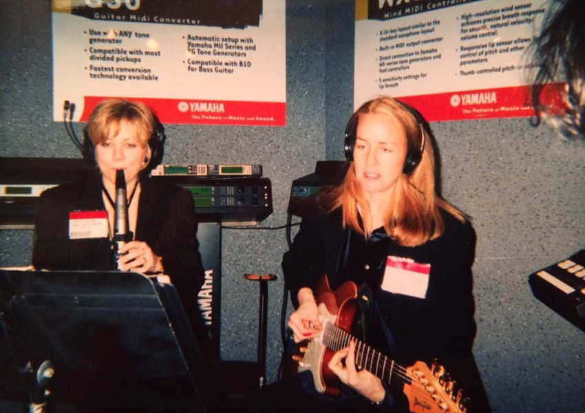 NAMM 1999 Yamaha MIDI system w/Sonya Jason