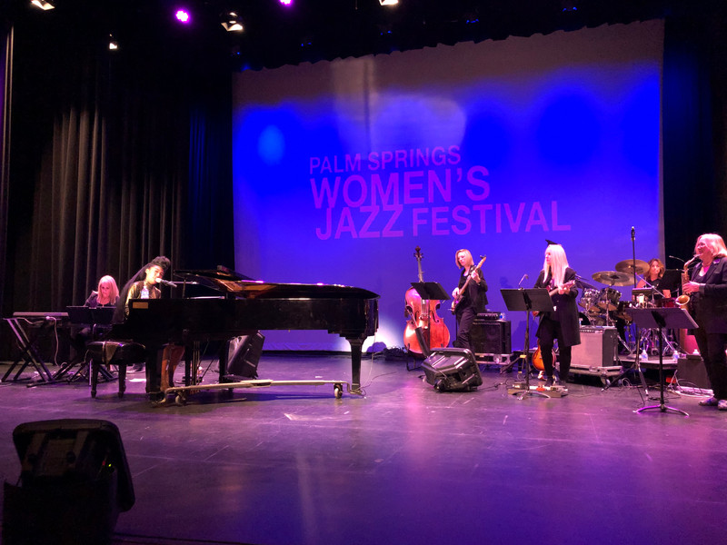 WIth Judith Hill and the PS Women's Jazz Festival Allstars