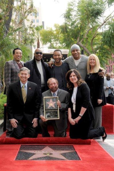 Smokey Robinson, Stevie Wonder, John Legend, LL Cool J (frt: Leron Gubler, Ken Erhlich, Maureen Schultz