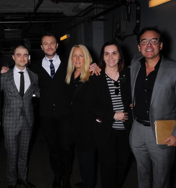 Daniel Radcliffe, Chris Hardwick Ana Martinez, Chris Columbus