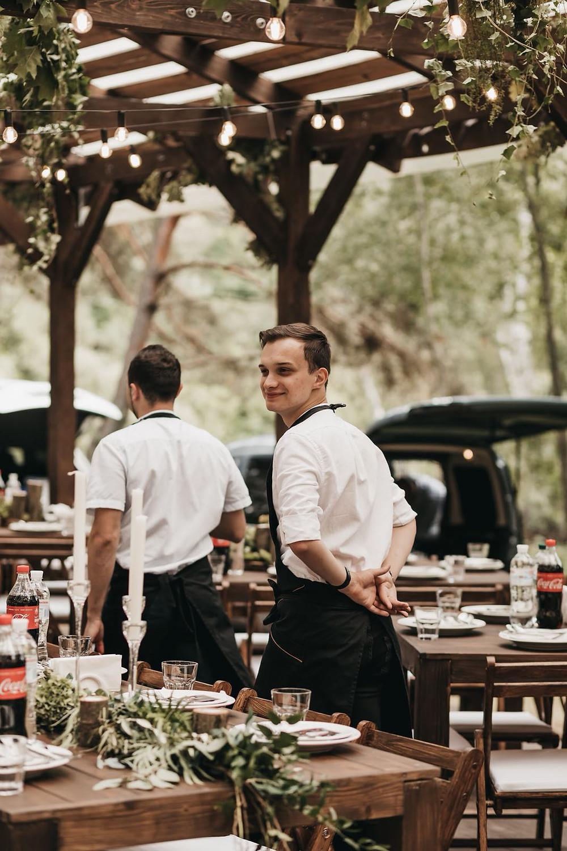 Виїзне кейтерингове весілля в Beautiful Moments Pavilion