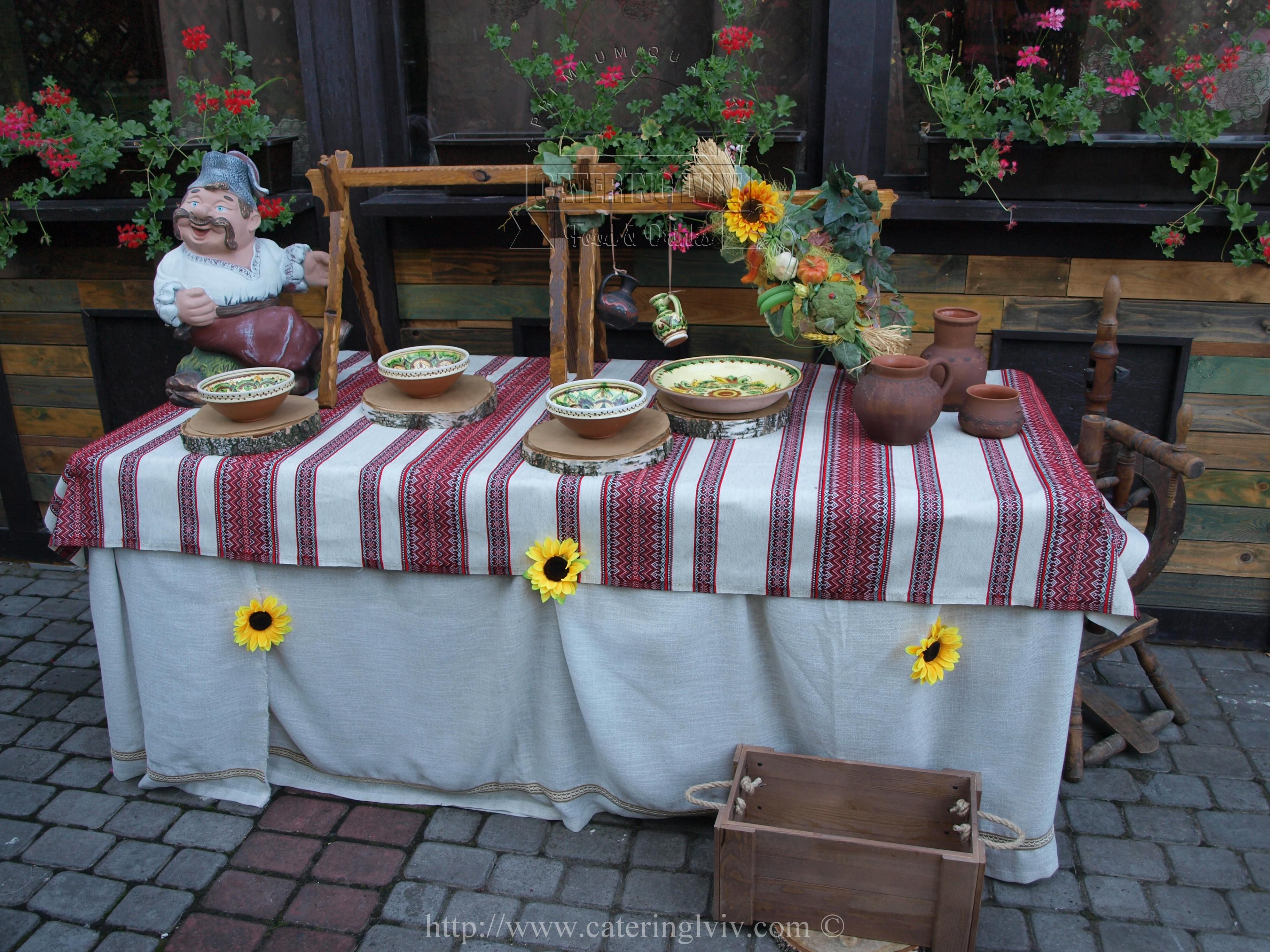 Козацький стіл Львів (7)