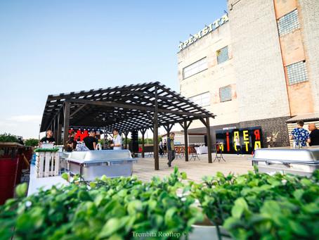 Trembita Rooftop - нове креативне місце для проведення кейтерингови заходів у Львові