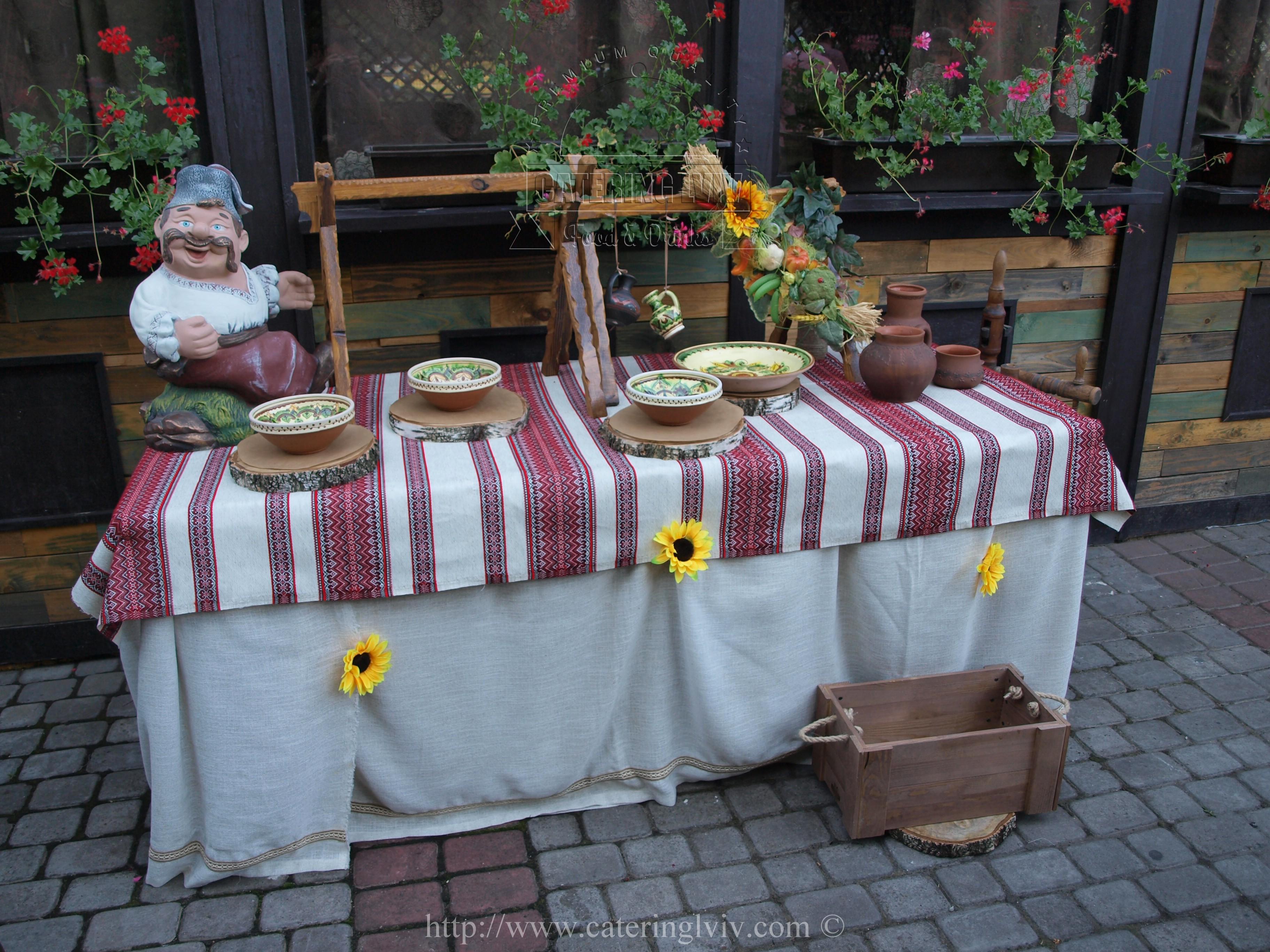 Козацький стіл Львів (2)