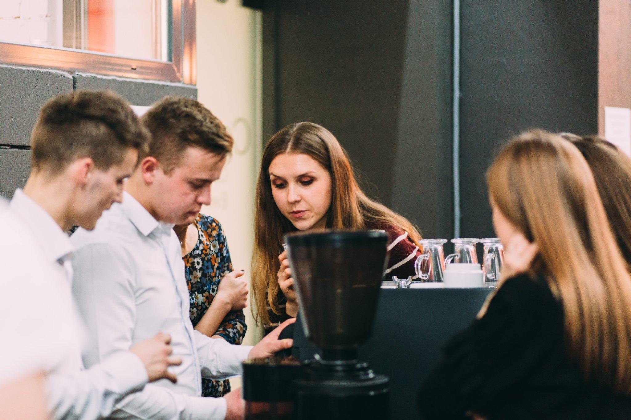 Кейтеринговий майстер клас кавовий