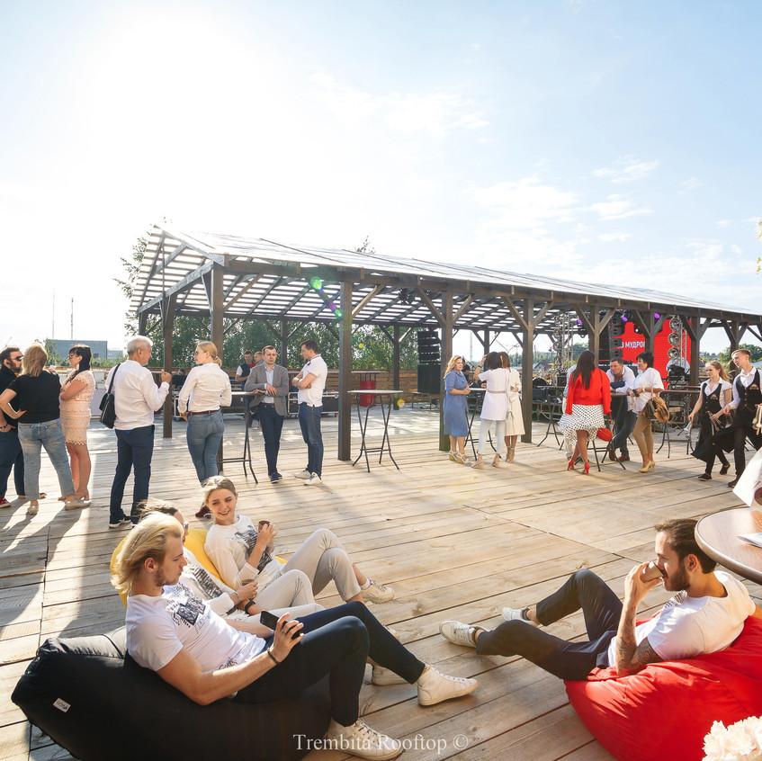 Trembita Rooftop Простір для святкування
