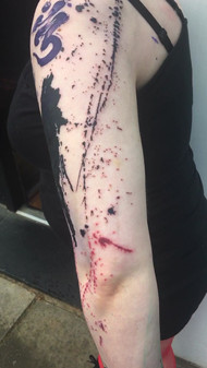 Abstract tattoo for Lanner