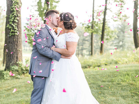 Riotous Wedding at Eagle's Nest Country Club - Melissa and John