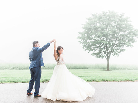 Courtney & Charlie - Belmont Manor Wedding
