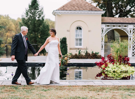 Sweet Intimate Wedding at Belmont Manor - Margaret and Doug