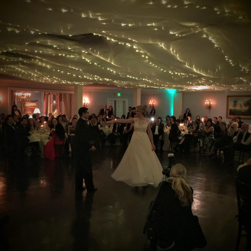 first dance in room