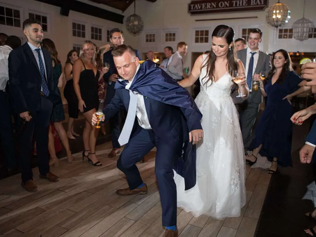Rocking Wedding at Chesapeake Bay Beach Club - Kayla and Alex