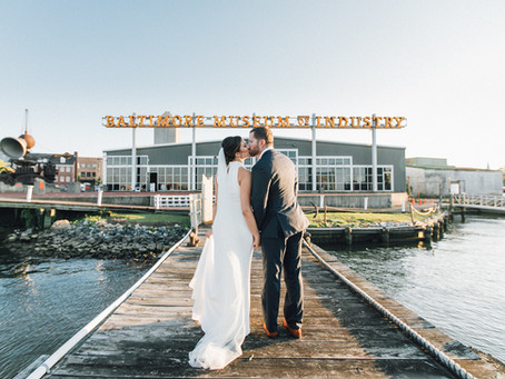 Rocking Wedding at Baltimore Museum of Industry | Alex and James