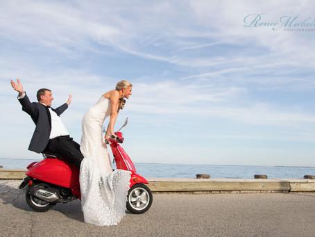 Kate & Jeff - Gibson Island Club Fall Wedding