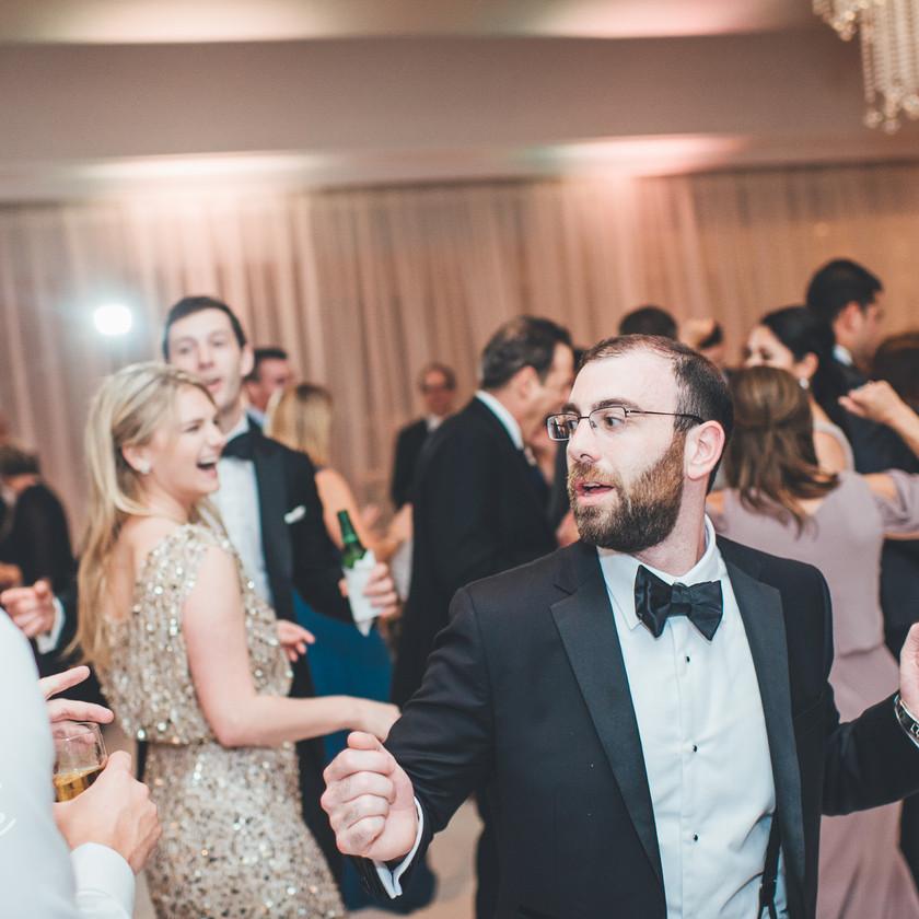 guy in tux dancing