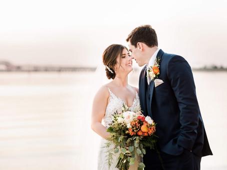 Wild Wedding at Chesapeake Bay Beach Club - Emily and Steven