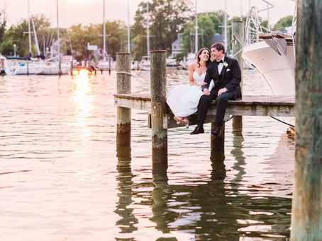 Rocking Port Annapolis Marina Wedding - Marisa and Casey