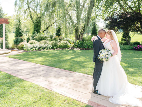 Charming Wedding During Covid at Turf Valley Resort | Devon and Ihab