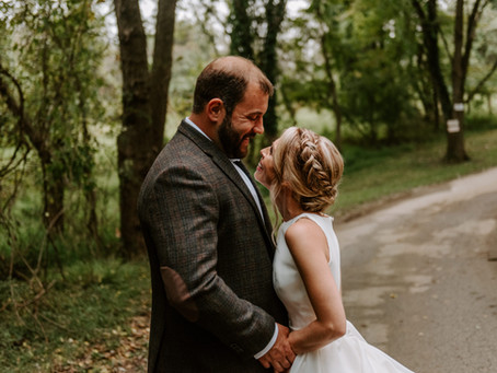 Private Barn in Catonsville | Jocelyn and Mike