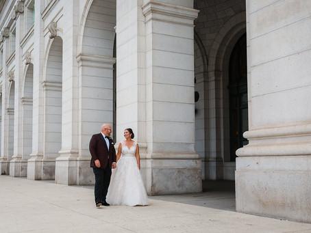 101 Constitution Avenue Washington DC Wedding - Kearney & Brent