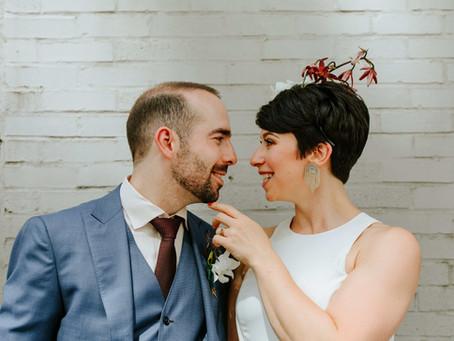 Wild Wedding at Assembly Room | Sasha and Dan