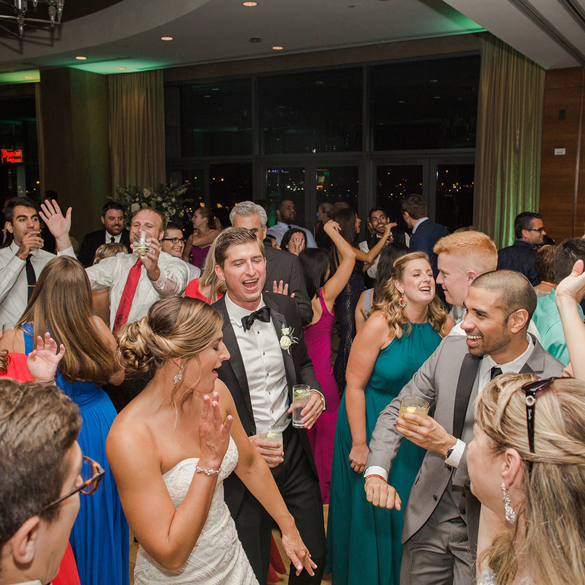 Four Seasons Baltimore wedding reception dancing