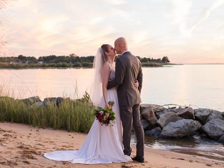 Chesapeake Bay Beach Club Wedding - Katie & Dmytro