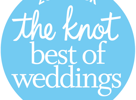 We Won The Knot Best Of Weddings Award