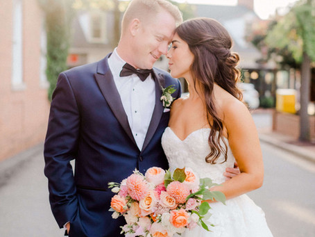 Sweet Wedding at Tidewater Inn - Laura and Andrew