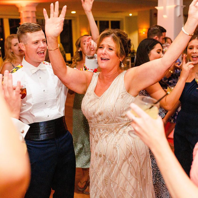 woman dancing at wedding