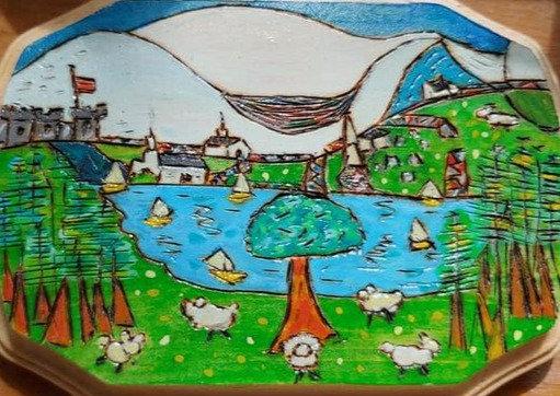English Sheep Farm    #C1   4x4