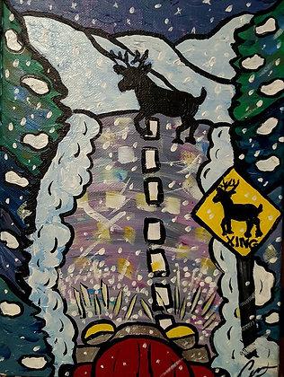 Deer Caught in the Headlights: Original