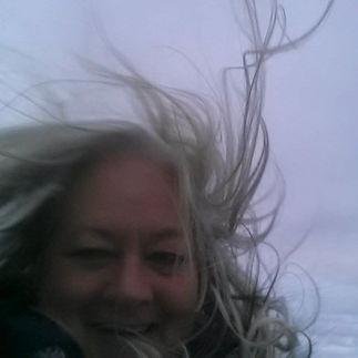 A tad windy!