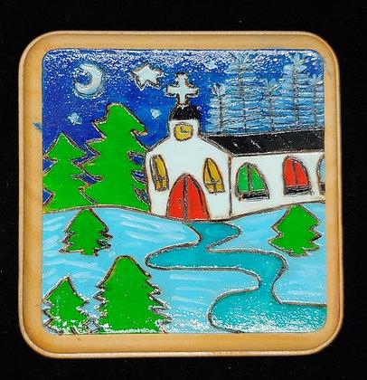 Winter Church      #E2   4x4