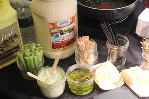 Select Recipe mayo from AAK in our dilled aioli