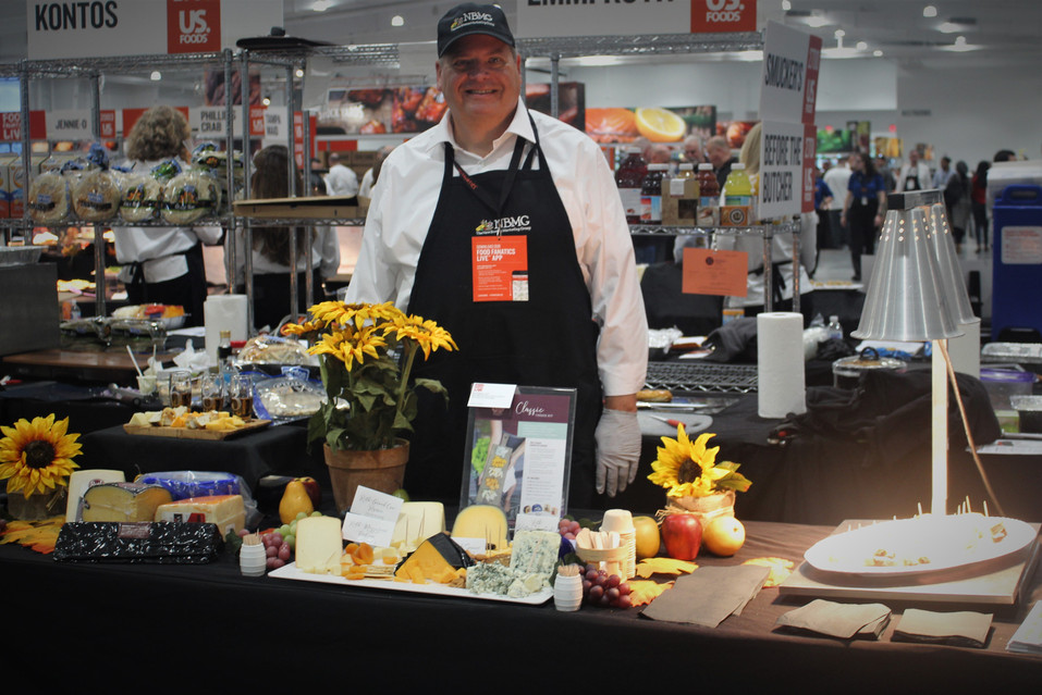 Another awesome cheese display courtesy of Bill Sloan