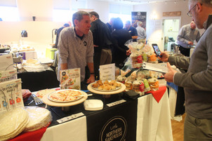 Jim from Little Northern Bakehouse features the new Gluten Free Pizza crusts.