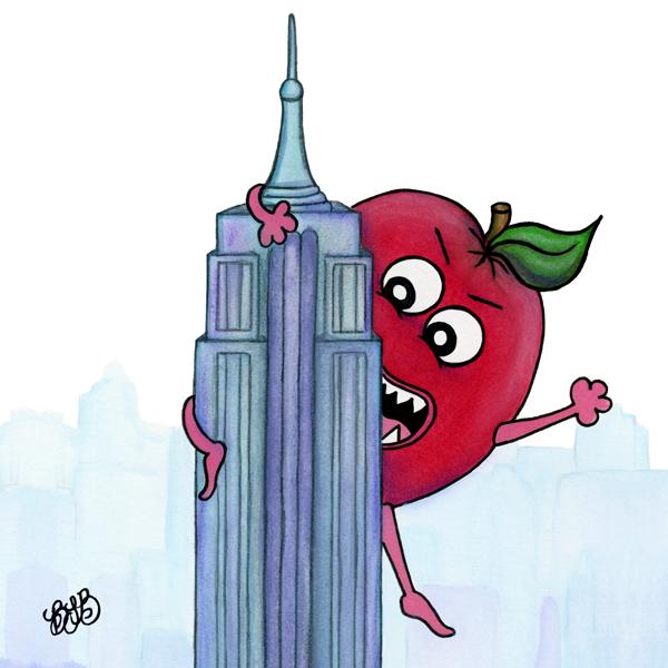 The Big Apple…or Applezilla!!