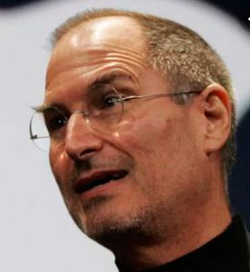 Steve Jobs looking bewildered