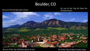 The Job Search Continues in Denver, with a Side Trip to Boulder