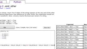 Practice Your Python and Java Coding at CodingBat.com
