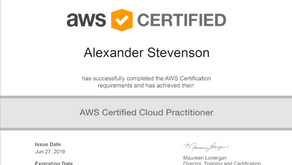 I'm an AWS Certified Cloud Practitioner
