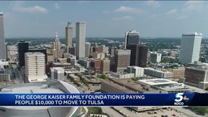 Move to Tulsa and the City Will Pay You $10,000