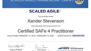 Scaled Agile's SAFe 4 Practitioner Certification