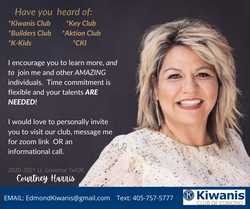invite to edmond club